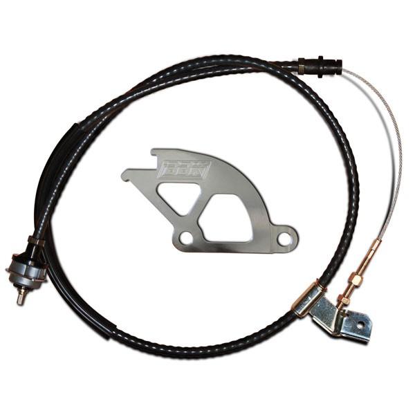 Bbk Hd Adjustable Clutch Cable Amp Quadrant Kit 79 95