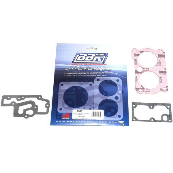BBK Twin 52mm Throttle Body Gasket Set (84-97 GM 5.0, 5.7L) 1583