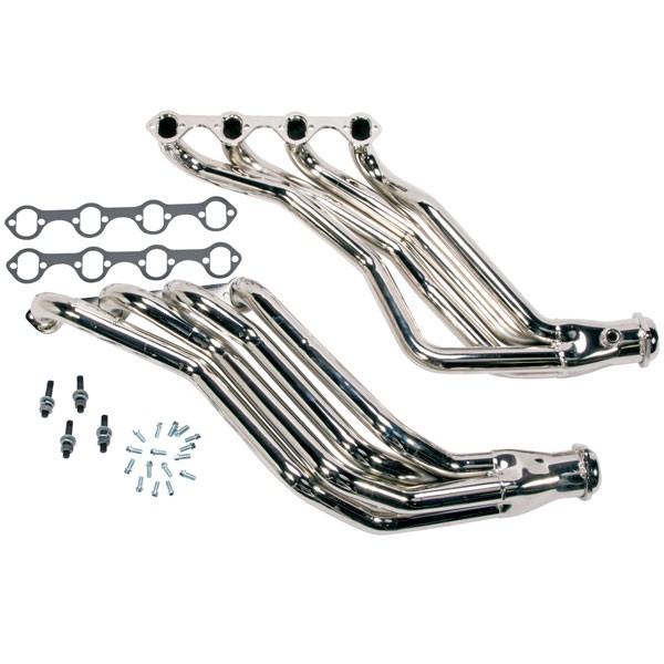 """BBK 1-3/4"""" Full Length Headers - Chrome (79-93 Mustang 5.0) 1594"""