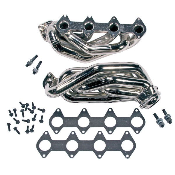 "BBK Chrome 1-5/8"" Shorty Headers (05-10 Mustang GT) 1612"