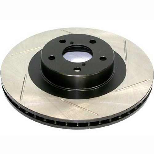 StopTech Slotted Brake Rotor - Front Right (05-15 Challenger, Charger SRT8) 126.63063SR