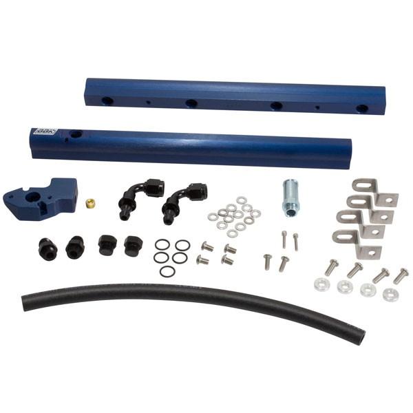 BBK High Flow Aluminum Fuel Rail Kit (05-10 Mustang GT) 5017