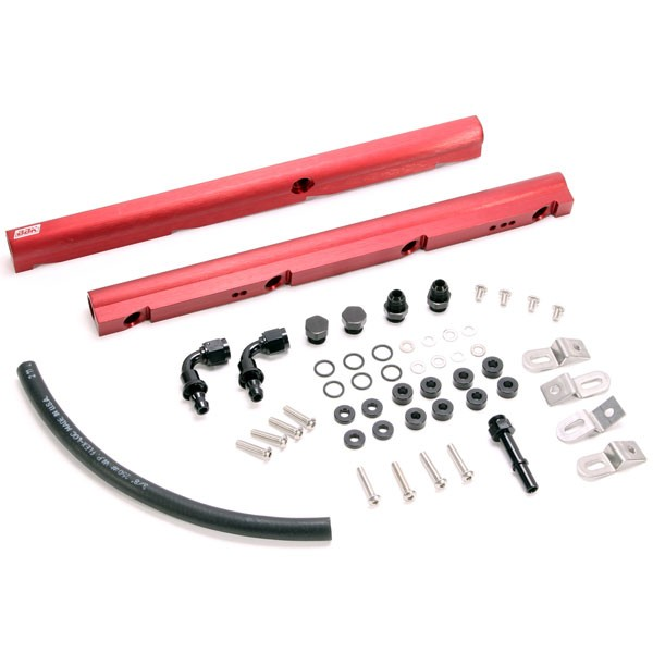 BBK Performance High Flow Aluminum Fuel Rail Kit (1997-04 GM LS1) 5018