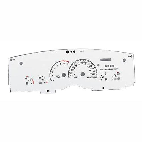 used bbk white face gauge kit  93