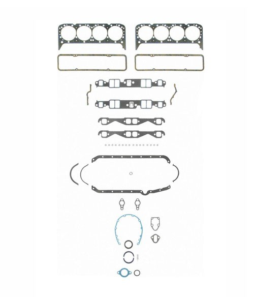 Fel-Pro SB-Chevy Gen 1 Full Engine Gasket Set (1957-79, 4.6L-5.7L) 2802
