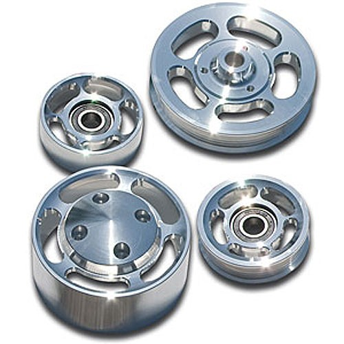 14 Mustang Gt Underdrive Pulley >> March Aluminum Underdrive Pulley Kit 05 09 Mustang 4 6