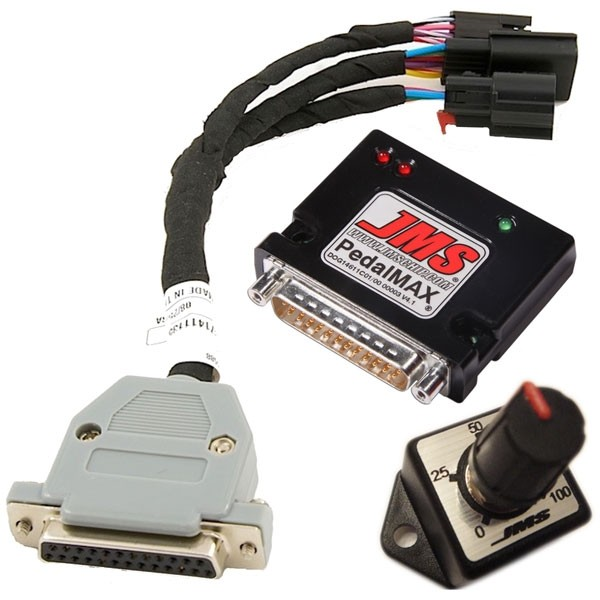 JMS PedalMax Throttle Enhancer w/ Knob (11-18 Mustang)