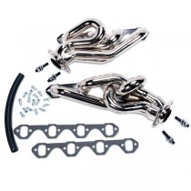 USED BBK Equal Length Shorty Headers - Chrome (79-93 Mustang 5.0)