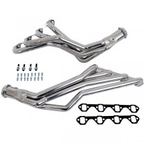 "BBK 1-5/8"" Full Length Headers for Automatic - Chrome (79-93 Mustang 5.0) 1531"