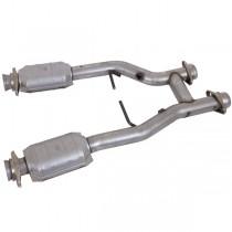 BBK Short H-Pipe w/ High-Flow Converters (96-04 Mustang 4.6)