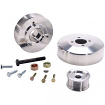 BBK Underdrive Pulley Kit - Aluminum (97-04 F-Series, Expedition 4.6, 5.4) 15550