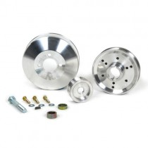 BBK Performance Buillet Aluminum Underdrive Pulley Kit (1996-2001 Mustang 4.6) BBK1555