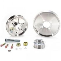 BBK Aluminum Underdrive Pulleys (Late 01-04 Mustang 4.6) 1559