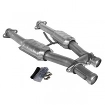 BBK Short High Flow Catted H-Pipe (94-95 Mustang 5.0)