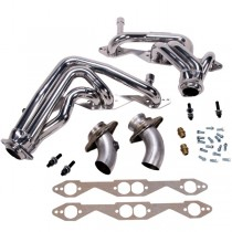 "BBK 1-3/4"" Full Length Headers - Chrome (79-93 Mustang 5.0) 1594"