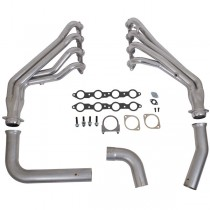 USED BBK Long Tube Headers and Y-Pipe - Coated (99-02 GM Truck V8)