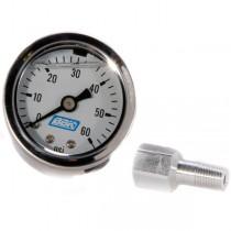 BBK Fuel Pressure Gauge & Fuel Rail Adapter (86-98 Mustang V8) 1617