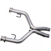 "BBK 2-3/4"" Short Off Road X-Pipe (05-10 Mustang GT) 1636"