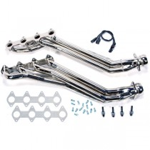 "USED BBK 1-5/8"" Full Length Headers - Chrome (05-10 Mustang GT)"