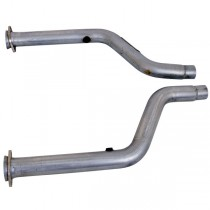 "BBK 2-3/4"" Short Off-Road Mid-Pipe (05-12 Charger/Challenger/300 5.7L) 1797"