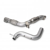 BBK High Flow Catted Downpipe (15-18 Mustang EcoBoost 2.3L)