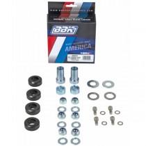 BBK Caster Camber Plate Hardware Kit (79-93 Mustang)