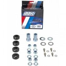 BBK Caster Camber Plate Hardware Kit (94-04 Mustang)