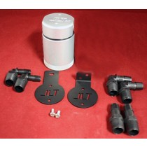 JLT Oil Separator V3.0 Universal Base Kit (Clear)