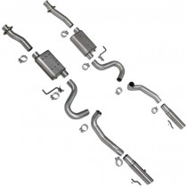 BBK Varitune Cat Back Exhaust Kit (87-93 Mustang LX, Cobra, 94-04 GT) 3001