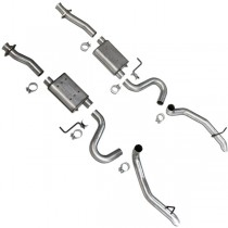 BBK Varitune Cat Back Exhaust Kit (87-93 Mustang GT) BBK 3002
