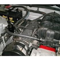 JLT Oil Separator V3.0 Passenger Side (05-10 Mustang V6) Black