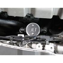 JLT Oil Separator V3.0 Front Black (13-14 Focus ST)
