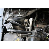 JLT Oil Separator V3.0 Passenger Side Black (10-17 Taurus SHO)