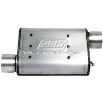 "BBK Varitune Muffler - Aluminized - 2-1/2"" Offset / Offset"