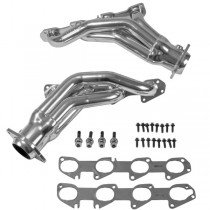 BBK Shorty Headers - Chrome (06-10 Charger, Challenger 6.1L)