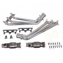 "BBK 1-3/4"" Coated Long Tube Headers w/ Converters (10-11 Camaro V6)"
