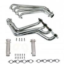"For 2010-2011 Camaro BBK 4024 2-1//2/"" X-Pipe Resonator Delete Aluminized"