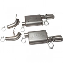 BBK Varitune Axle Back Exhaust - Stainless (05-10 Mustang GT)
