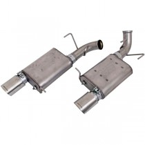 BBK Varitune Axle Back Exhaust Kit - Stainless Steel (11-14 Mustang GT) BBK 41015