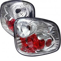 Spyder Euro Style Tail Lights - Chrome (01-03 Ford F-150 Flareside) 5003164