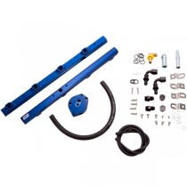BBK High Flow Aluminum Fuel Rail Kit (96-98 Mustang GT) 5015
