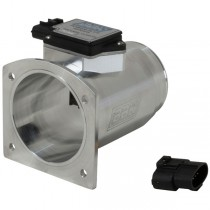 BBK Performance 76mm Billet Mass Air Meter for 24lb Injectors - Cold Air Calibration (1994-95 Mustang 5.0L) 80095