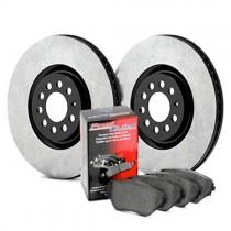 Stoptech OE Rotor & Premium Brake Pad Kit - Rear (94-04 Mustang V6, GT) 909.61512