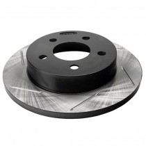 StopTech Slotted Brake Rotor - Rear Left (94-04 Mustang GT, V6) 126.61042SL