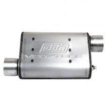 "BBK Varitune Adjustable Muffler - Aluminized - 2-3/4"" Offset / Offset 3102"