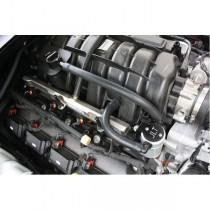 JLT Oil Separator Ver. 3.0 Passenger Side Black (05-17 5.7 HEMI)