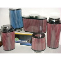 "JLT Performance Power Stack Air Filter 4x6"" - Red Oil RO218"