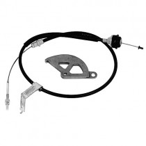 Ford Racing Adjustable Clutch Quadrant and Cable Kit (1996-04 Mustang) M-7553-D302