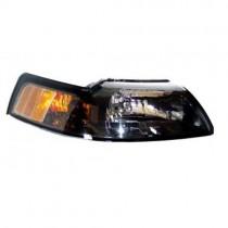 Brentech Passengers Side Headlight - Tinted (1999-04 Mustang) 5029