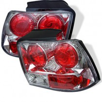 USED Spyder Euro Style Tail Lights - Chrome (99-04 Mustang)